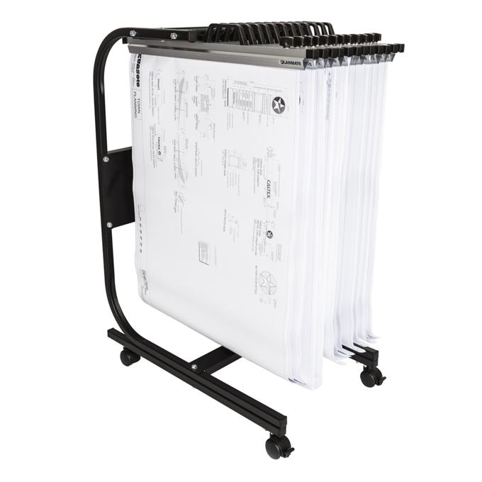 Universal A1 MINI 12 Plan Trolley (12 Clamp Capacity)